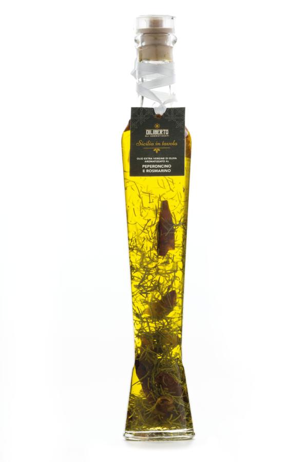 olio aromatizzato peperoncino e rosmarino