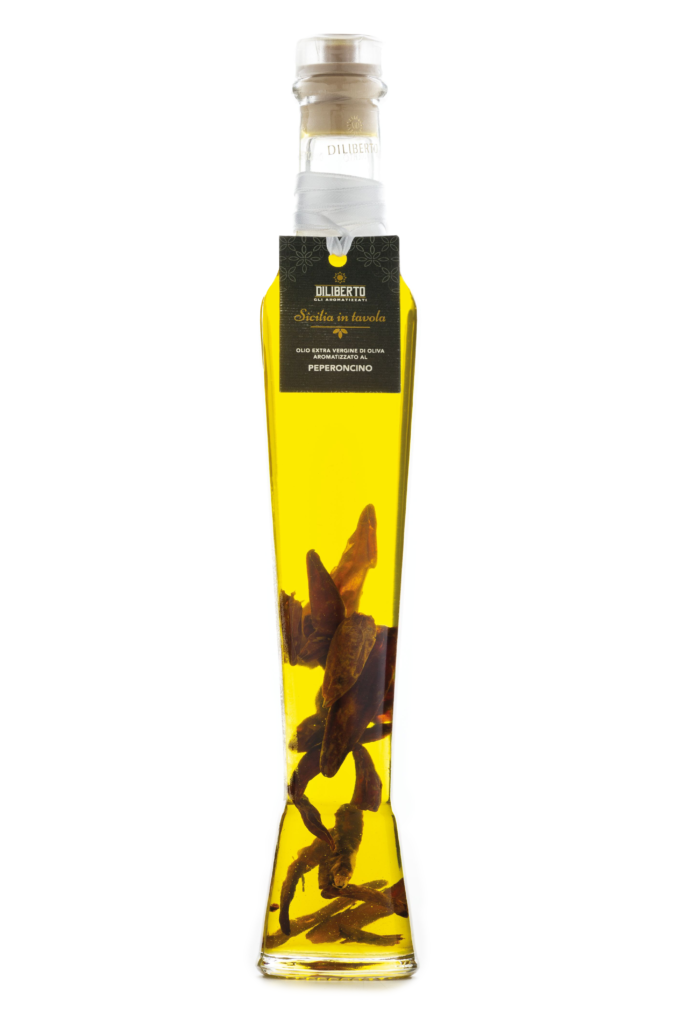 olio aromatizzato al peperoncino