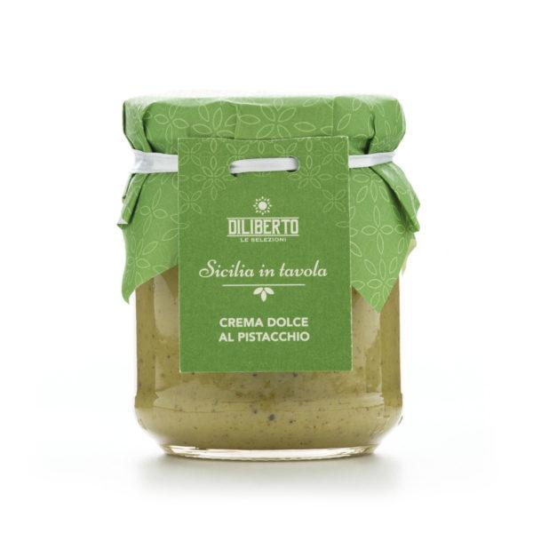 crema dolce di pistacchio olio diliberto