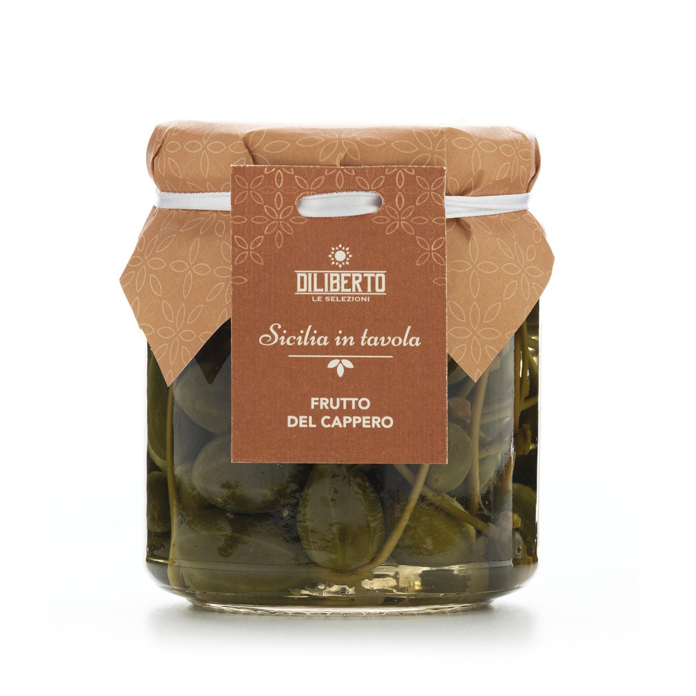 frutto del cappero olio diliberto