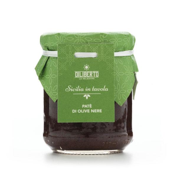 patè di olive nere olio diliberto