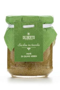 patè di olive verdi olio diliberto