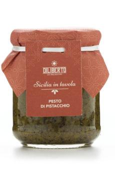 pesto di pistacchio olio diliberto
