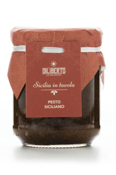 pesto siciliano olio diliberto