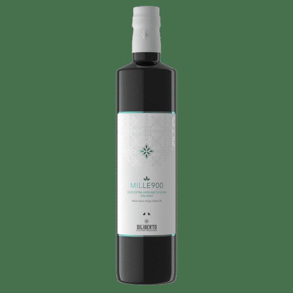 Una bottiglia di olio Mille900 Extra da 750 ml