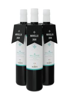 set da 3 bottiglie di olio novello 2020 diliberto