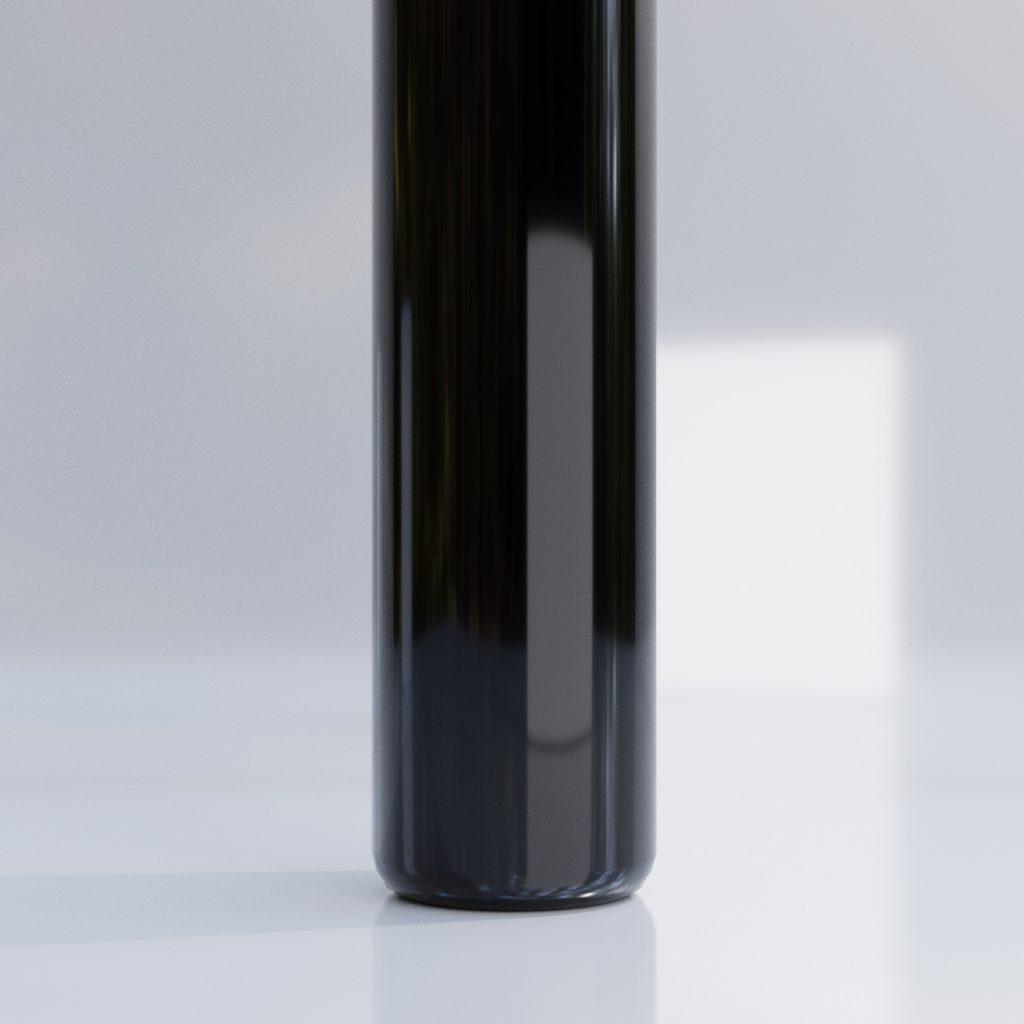bottiglia senza etichetta